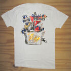 RARE Grateful Dead shirt summer 1989 tour US  t-shirt Gildan reprint image