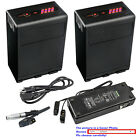 Kastar Battery Dual Charger for Canon BP-A30 A60 BA90 Canon XF705 4K UHDCamera