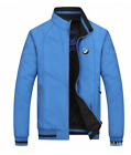 Hot! 2018 new spring and autumn season blue jacket for BMW fashion leisure coat