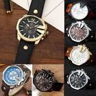 Curren 8176 Men Leather Band Strap Watch Mechanical Relogio Masculino Watch RE image