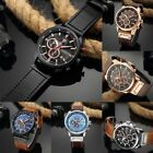 Curren 8291 Men Leather Band Strap Watch Mechanical Relogio Masculino Watch RE image