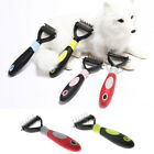 Multifunction Stainless Pet Dog Grooming Rake Fur Hair Comb with Plastic Handle