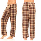 New Mens Flannel Fleece Pajama Pant Lounge Pants Size L, XL, XXL