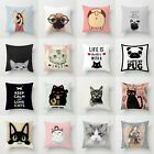 Sofa Cushion Pillow Decor Waist 18'' Home Cover Case Throw Polyester