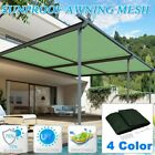 Sun Shade Sail Rectangle Patio Top Replacement Cover 16*20 Top Canopy Shelter UR