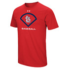 St. Louis Cardinals MLB Men's Under Armour Performance Icon T-Shirt, NWT