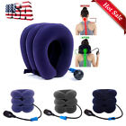 Massager Neck Brace Support Cervical Collar Air Traction Pillow Therapy Device G