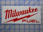 "Milwaukee Tools Fuel Decal Sticker 3"" Sawzall Drill Saw Impact M12 M18 Light 28"