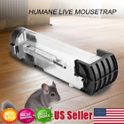 1/2/4/8pcs Mouse Rodent Animal Control Catch Bait Humane Live Traps Hamster Cage