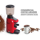 Commercial Household Electric Automatic Coffee Grinder 500g Bean Hopper 180W Red