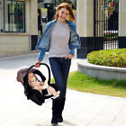 Luxury Baby Stroller 3 in 1 High view Pram foldable carriage pushchair&Car Seat