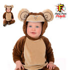 Baby Monkey Costume Infant Toddler Jungle Animal Chimp Fancy Dress Outfit