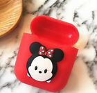 1PCS Cute Cartoon Soft Silicone Shockproof Earphone Cover Case For Apple Airpods