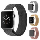 For Apple Watch Series 4/3/2/1 Milanese Magnet Stainless Steel iWatch Strap Band image