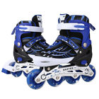 Adult Kids Inline Skate Rollerblade Roller Blades Boots Adjustable Flash Wheel*