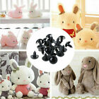 100pcs Color Plastic Safety Eyes For Animal Puppet Doll Puppy Craft 10-18mm