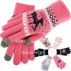 Touch Screen Winter Gloves Women Warm Knit Thermal Insulated Christmas Gifts USA