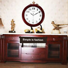 Wine Red Clock Classic 12 Atomic Radio Controlled Wall Clock BGW612-YG #J