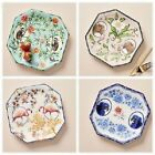 Внешний вид - NWT Anthropologie Nature Table Dessert Plate-Flamingo, Parrot,Lemur,or Elephant