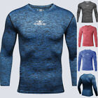 Men's New Fitness Training Clothes Long Sleeve Blouse Outdoor Sports Blouse Tops