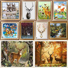 Внешний вид - Deer Donkey Full Drill DIY 5D Diamond Painting Embroidery Cross Stitch Kits Art