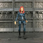 Custom Marvel Legneds Black Widow 6* Action Figure Refer to Mandroid BAF Wave