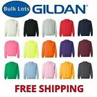 Gildan Crew Neck Sweatshirts Bulk Lots S-XL Wholesale Choose Colors 18000