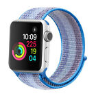38/44mm Nylon Woven Wrist Watch Strap Loop Band for Apple Watch 4/3/2/1 Series
