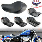 Wide Rider Driver Solo Seat For Harley Sportster XL 883 XL 1200 Custom 2004 2015