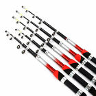 TELESCOPIC FISHING RODS AND REELS 6ft,7ft,8ft,9ft 10ft,5 CHOOSE ROD SIZE TRAVEL