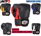 JAYEFO Kids Boxing Gloves Junior Punching Bag Children MMA Youth Boys 4 6 8 oz