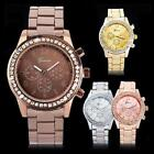 Fashion Ladies Women Girl Unisex Stainless Steel Analog Quartz Wrist Waterproof image