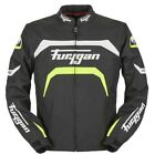 Furygan Arrow Jacket Black Yellow Waterproof Textile Motorcycle Jacket NEW