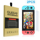2PCS Premium Clear 9H Tempered Glass Screen Protector Guard For Nintendo Switch