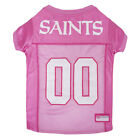 New Orleans Saints NFL Officially Licensed Pets First Dog Pet Pink Jersey XS-L $27.97 USD on eBay