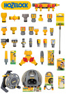 Hozelock Range of  Connectors - Garden Hose Fittings Joiners Adaptors Spray Guns