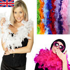 Kyпить 2M Feather Boa Strip Fluffy Craft Costume Fancy Dress Wedding Party Hen Night D на еВаy.соm