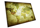 Map Choice - World Map Flags Grunge UK Europe Watercolour Animal Print A0 A1 A2