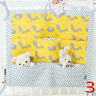 Colors Soft Safety Crib Stuff Bed Hanging Bags Baby Storage Bedding Bumpers