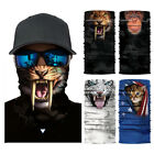 Cycling Motorcycle Head Scarf Neck Face Mask Ski 3D Animal Printed Headband