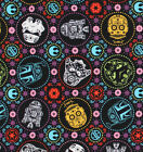 Star Wars Sugar Skull Fabric, Darth Vader Sugar Skulls Cotton Fabric by the Yard $6.99 USD on eBay