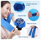 Ice Cold Sports Gym Yoga Cooling Towel Enduring Chilly Pad Instant Outdoor 39*11 image