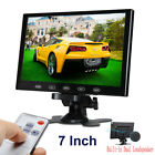 "US-10""/9""/ 7"" CCTV Monitor PC Screen AV RCA VGA HDMI 1080p for DSLR Raspberry Pi"