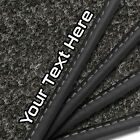 Ford Street Ka (2003 - 2008) Anthracite Car Mats & Custom Logo [v]