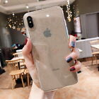 Shockproof Transparent Silicone Case Cover For iPhone XS Max XR X 8 7 Plus 6S 6