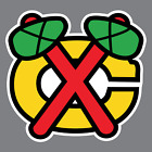 Chicago Blackhawks Vinyl Sticker / Decal *NHL* Western * Central * Hockey * IL* $2.0 USD on eBay