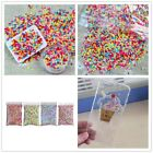 100g Polymer Clay Fake Candy Sweets Simulation Creamy Sprinkle Decor Phone Shell image