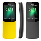 New Nokia 8110 LATEST 4GB 512MB RAM 4G LTE Banana Phone Unlocked Curved Mobile