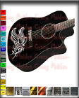 Guitar body decal Accents Vinyl Graphics Acoustic Electric Bass  for sale