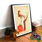 Coca Cola Pin Up Girl Poster A3 A4 Pin Up Girl Poster £7.99  on eBay